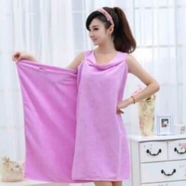 Bath Robe - Pink