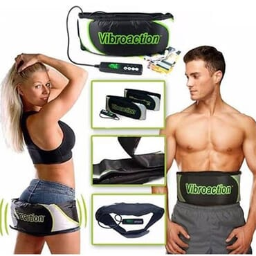 Vibroaction Electronic Slimming Belt - Unisex