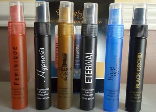Beauty Fair 6 in1 Perfumes