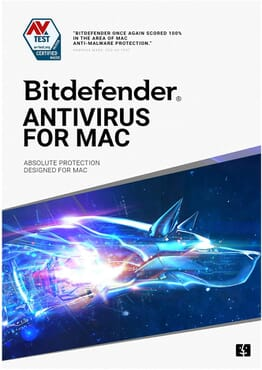 Bitdefender Antivirus for Mac - 1 Device | 1 Year Subscription| Mac Activation Code by email