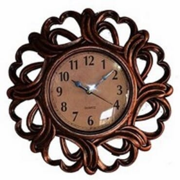 Bronze Plated Decorative Wall Clock