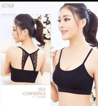 Butterfly Tube Bralette for Women