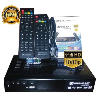 Unique SAT Multifunction Unique Ultra HD Free To Air Satellite TV Channels Receiver Decoder