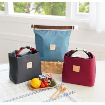 Iconic Insulated Lunch Bag Tote Pouch With Handle