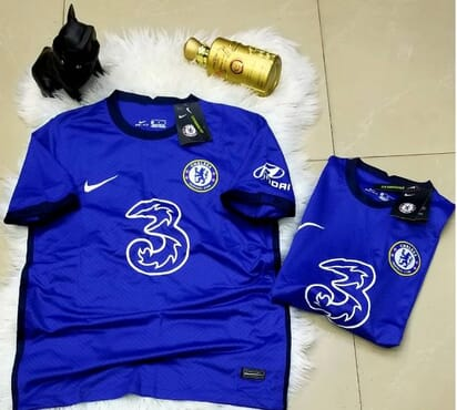 CHELSEA 2020/21 HOME SHIRTS