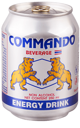 Commando Energy Drink - 1 Carton