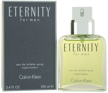 Calvin Klein Eternity Eau De Toilette For Men - 100ml