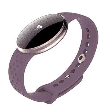Skmei Women Smart Watch For IPhone/Android With Fitness Sleep Monitoring Waterproof Remote Camera Purple
