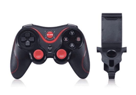 Gen Game S5 Wireless Bluetooth Gamepad Controller And Mobile Clip