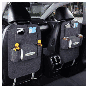 Car Seat Back Organizer - Grey