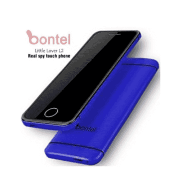 bontel L2 Little Lover - Super Slim - Hidden Top Hd Camera - Inbuilt Battery-blue