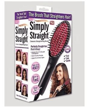 Simply Hair Straightner Brush