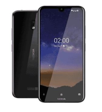 Nokia 2.2-5.71 HD- 2GB RAM-16GB ROM-3000Mah-Black
