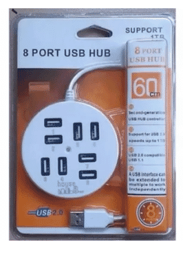 A&S 8 Port USB Hub
