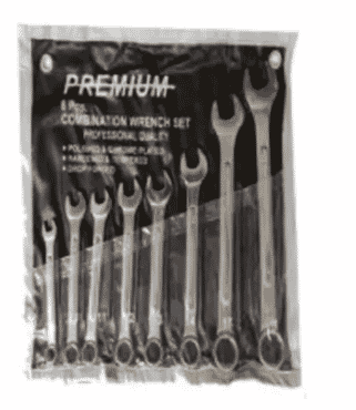 Complete Wheel Spanner Set - 8 Pieces