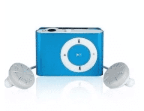 Universal Chef Sport Music MP3 Player - Blue