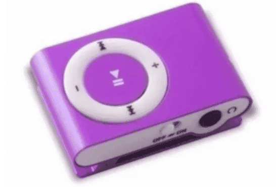 Mini MP3 Player - Purple