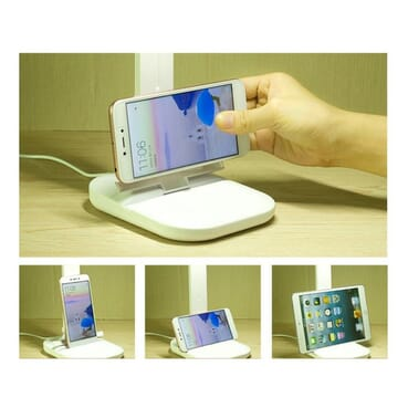 Classic 2000mAh Foldable Stylish Reading Lamp With Night Light And Fingerprint