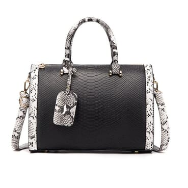 Classic All Outfit Matching Shoulder PU Leather Female Handbag