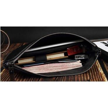 Classic Men Crocodile Body Men Envelope Bag/Big Men Wallet/Wrist Bag