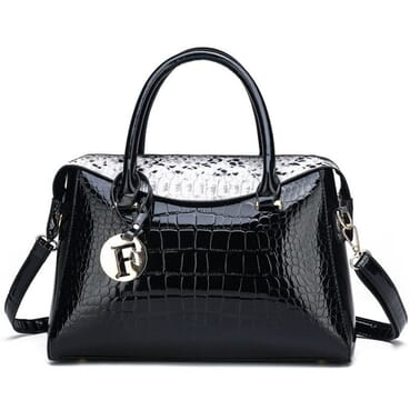Classic Women All Outfit Matching Shoulder PU Leather Female Handbag