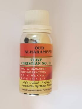 Clive Christain NO.01 Perfume Oil Oud Alharameen - 100ML