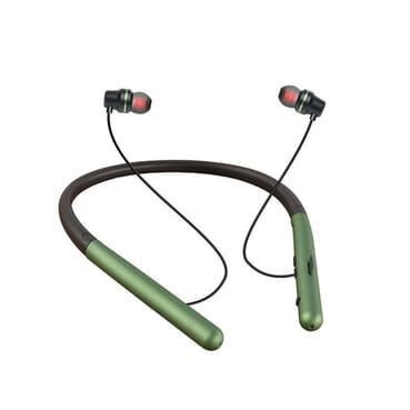 Confirmed 4-5 Hours Playing Time Pure Deep Bass Magnet Neck Band Wireless Headphones/Bluetooth Headset, Sport & Fitness Earphone With Volume Control ,Microphone Headset ,Memory Card Slot.