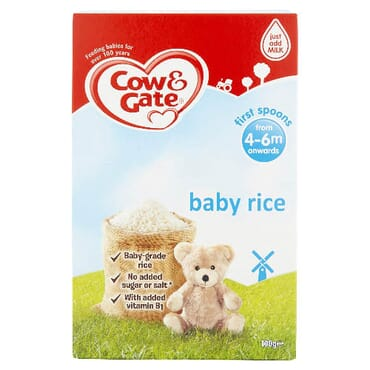 Cow & Gate Cow And Gate Baby Rice Cereal 4-6 Months