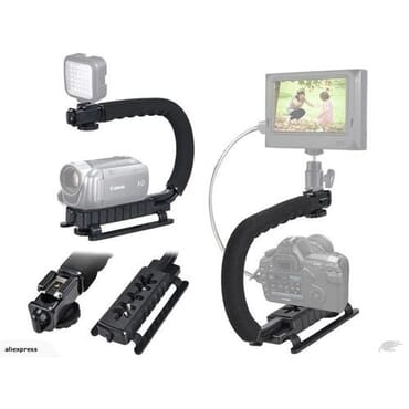 Handheld Video Stabilizer For IPhone Canon Nikon Sony DSLR Camera