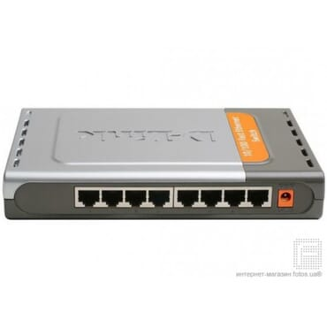 8 Port DLink Switch