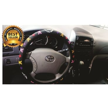 Designer Silicone Car Steering Wheel Cover