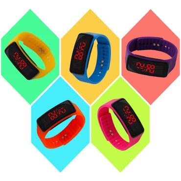 Kids LED Digital Wristwatch