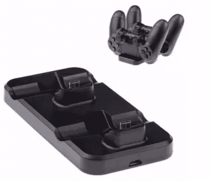 A&S Dual Port Charger For PS4 Game Pad