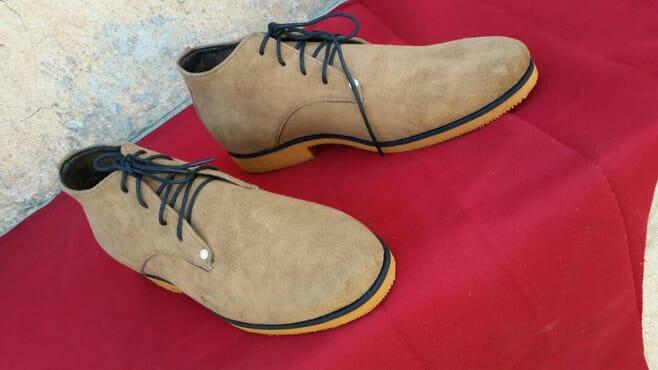 E-Kings Handmade Suede Desert Boots