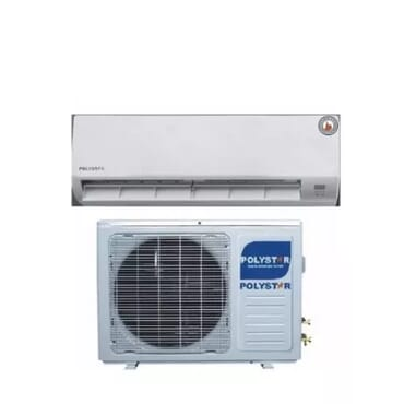 Polystar Polystar 1hp Air Conditioner Unit With Free Installation Kit - Pv-09cs/ak
