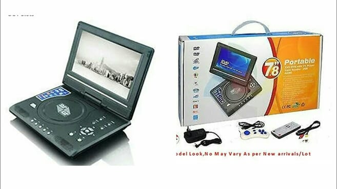 Portable EVD Digital Multimedia Player-3HRS BATTERY
