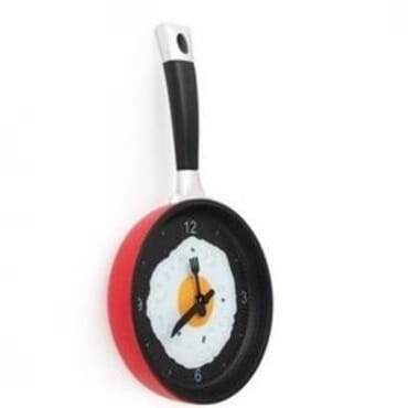 Fried Egg Kitchen Clock