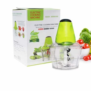 Multifunction Electric Cooking Machine and Food Processor