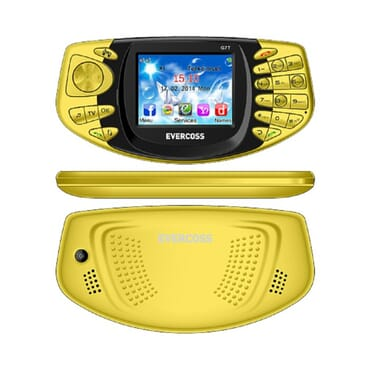 Evercoss G7t Tv Phone - Yellow