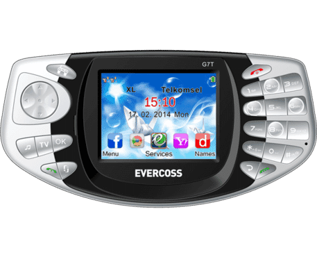 Evercoss G7t Tv Phone - Grey