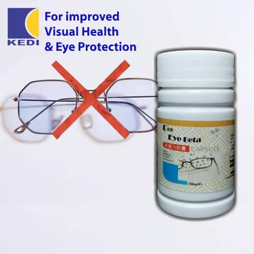Eye Beta Capsule - Stop Using The Glasses