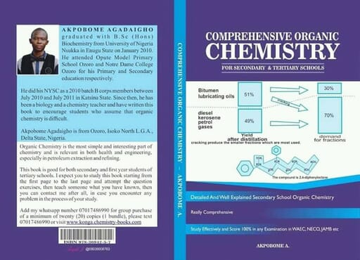 Organic Chemistry for Secondary and Tertiary Schools _ Hard Copy