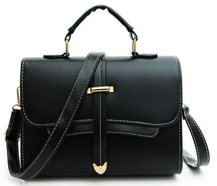 August Wish Tab Front Women's Crossbody Handbag