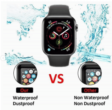 Screen Protector for Apple Watch Series 5/4/3/2/1 44mm/42mm/40mm/38mm
