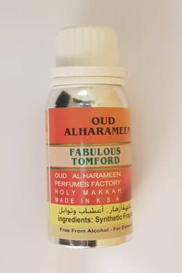 Fabulous Tomford Perfume Oil ,Oud Alharameen 100ML