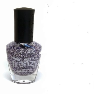 L.A Girl Feather Frenzy Texture Nail Polish - Hummingbird
