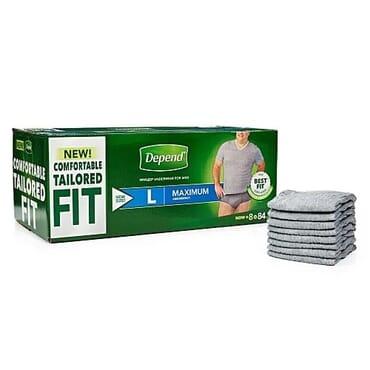 Fit-flex Incontinence Underwear For Men L - 84 Count