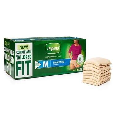 Fit-flex Incontinence Underwear For Women M - 88 Count