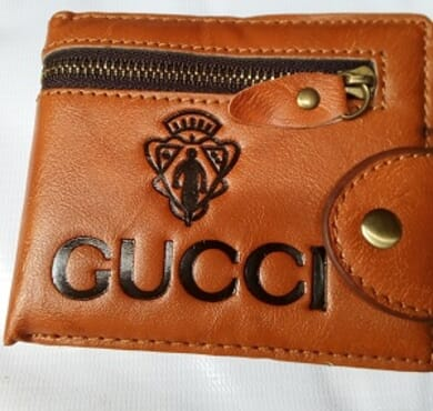 Gucci Foldable Men's Leather wallet