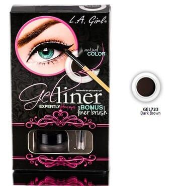 L.A Girl Gel Liner Kit - Dark Brown